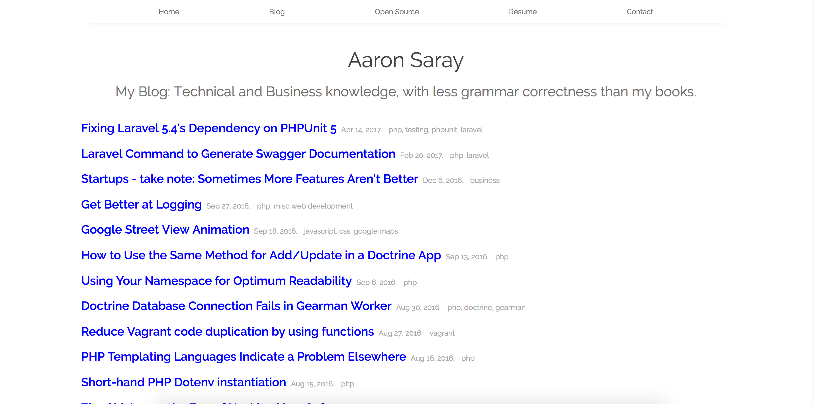 My site re-design: Simpler, faster, but less user-friendly?